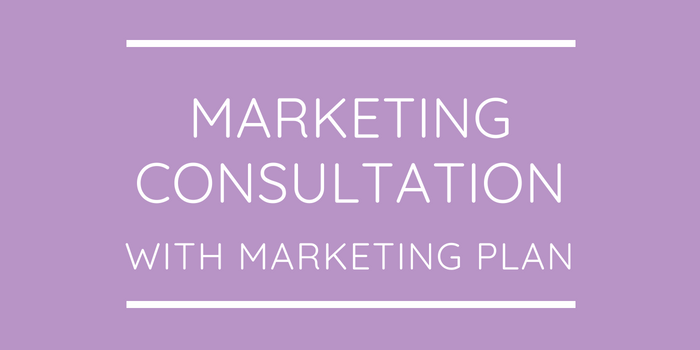 Marketing Consultation With Marketing Plan