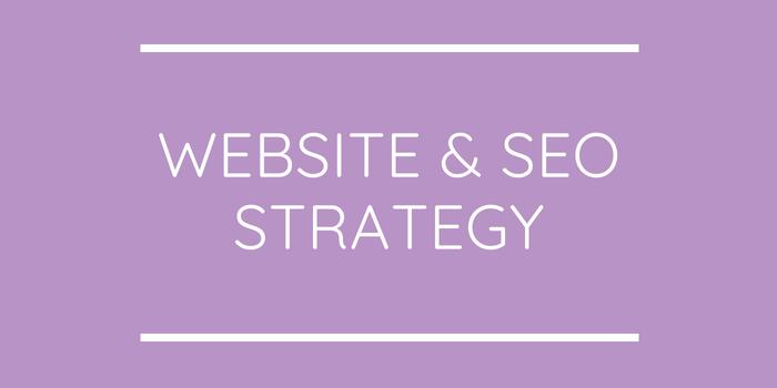 Website & SEO Strategy